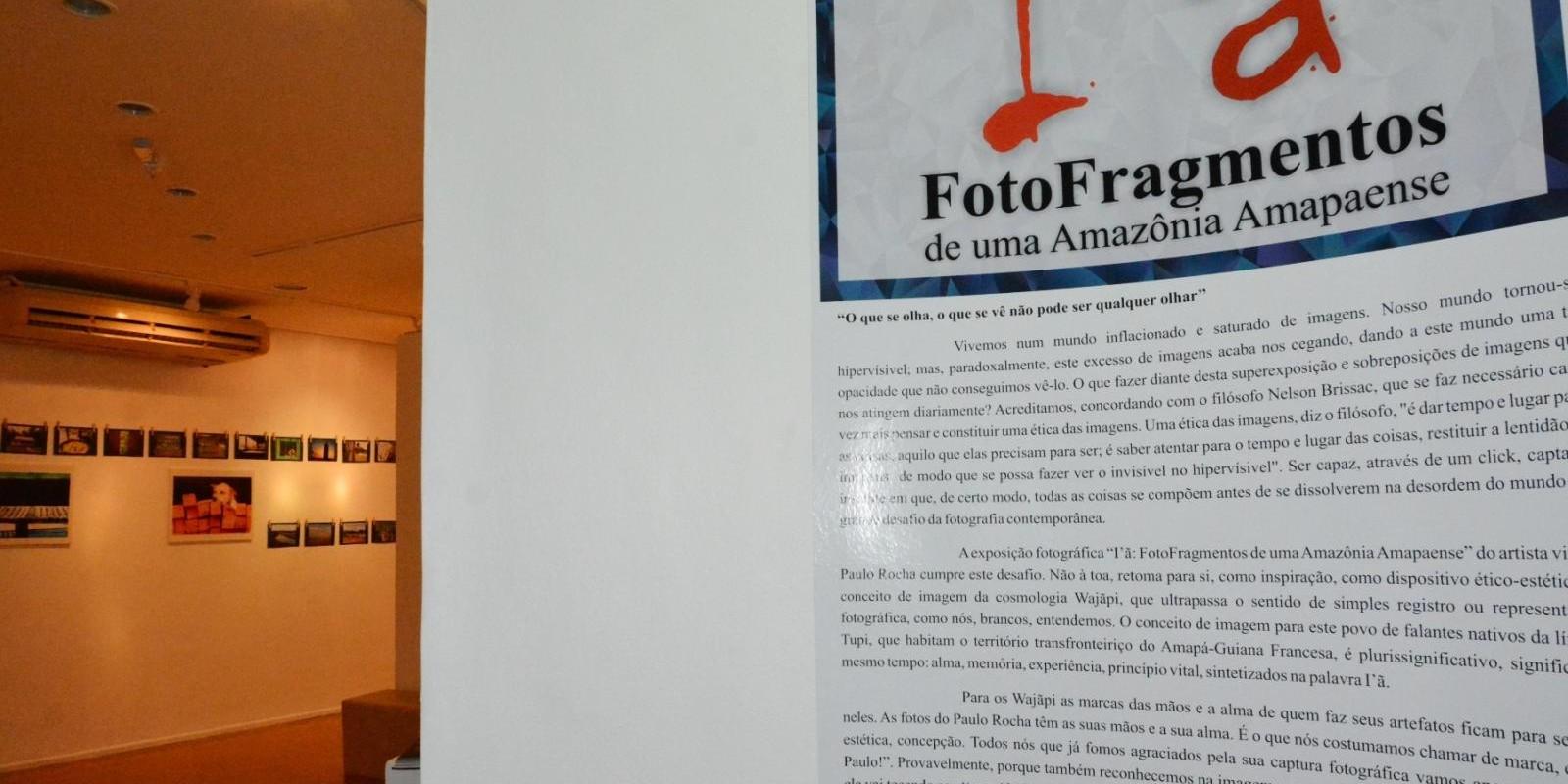 Lançamento exposição: I'ã: Fotofragmentos de uma Amazônia Amapaense