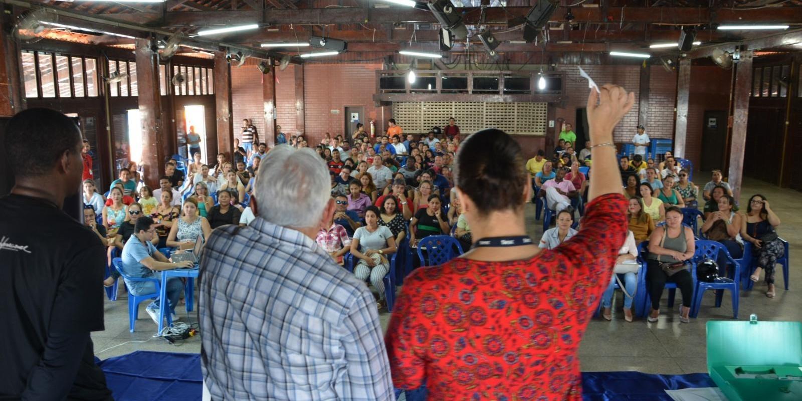 Sorteio de vagas maternal Escola Sesc 2018