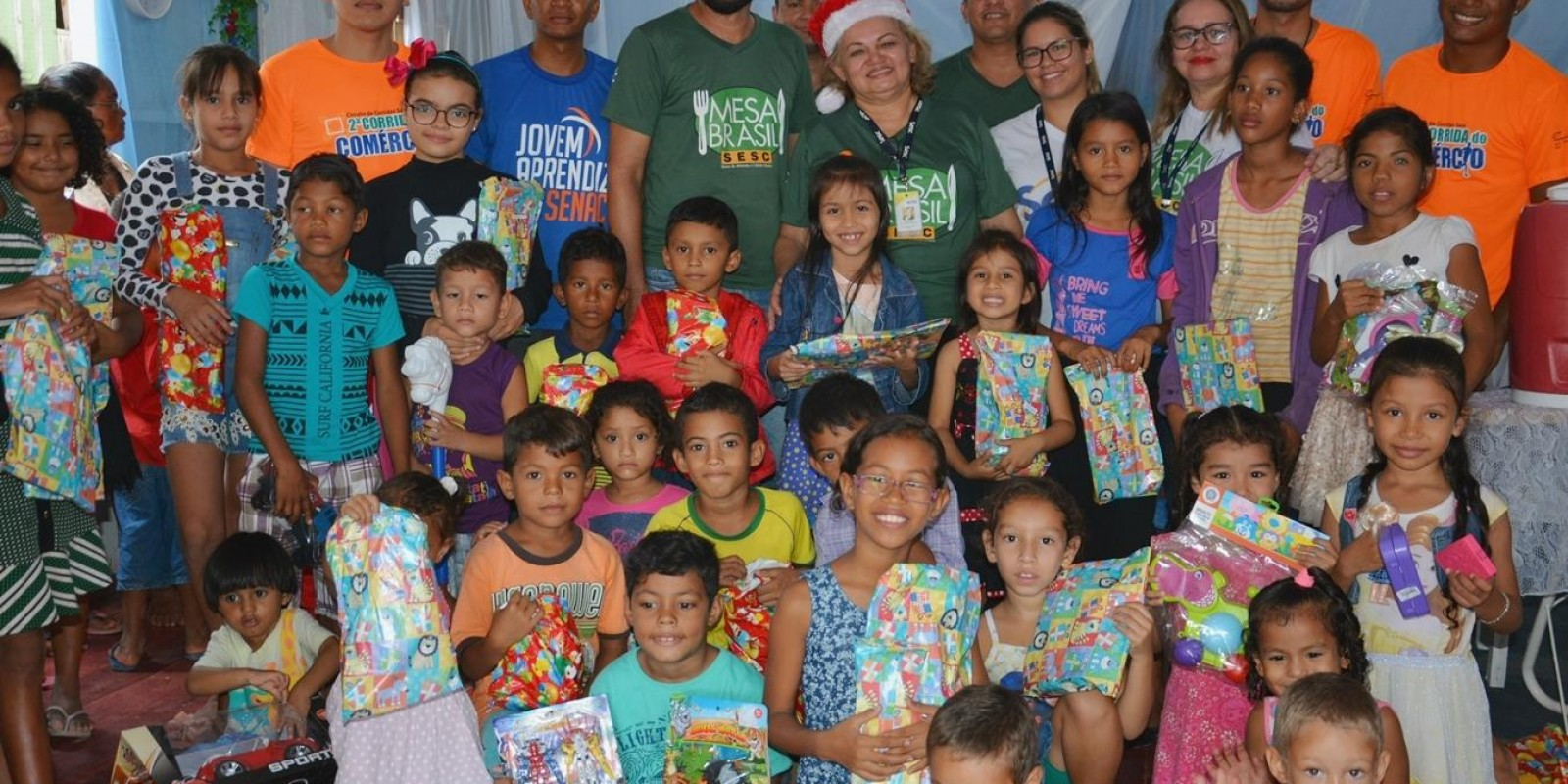 Doações de Brinquedos Mesa Brasil