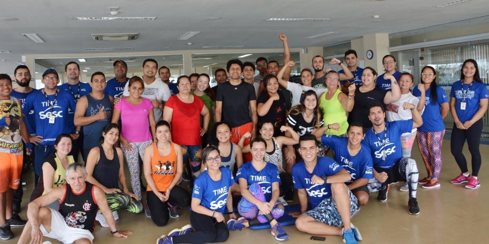 Maratona Fitness Sesc Centro
