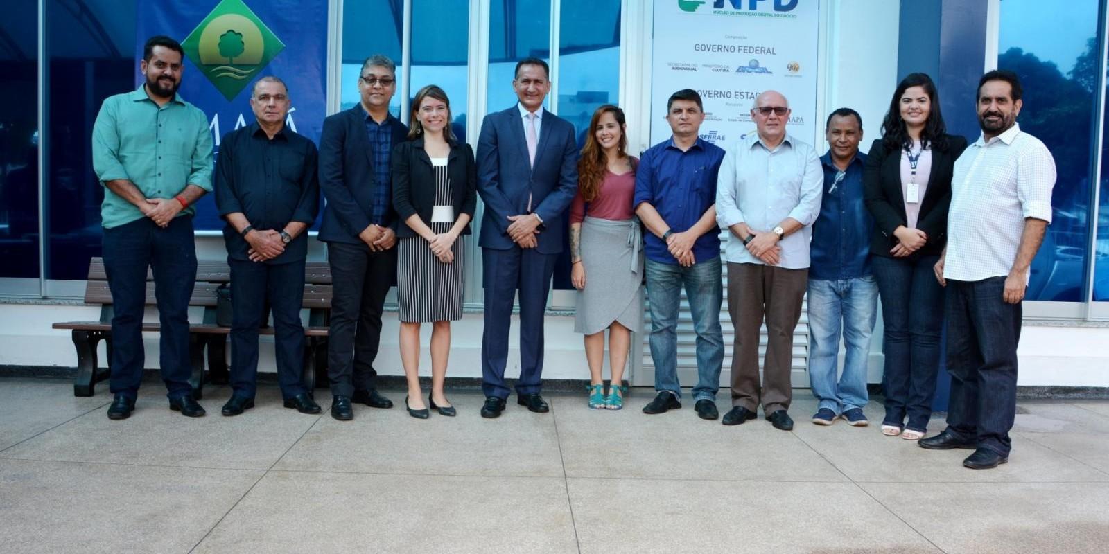 Inauguração do Núcleo de Produção Audiovisual em Macapá