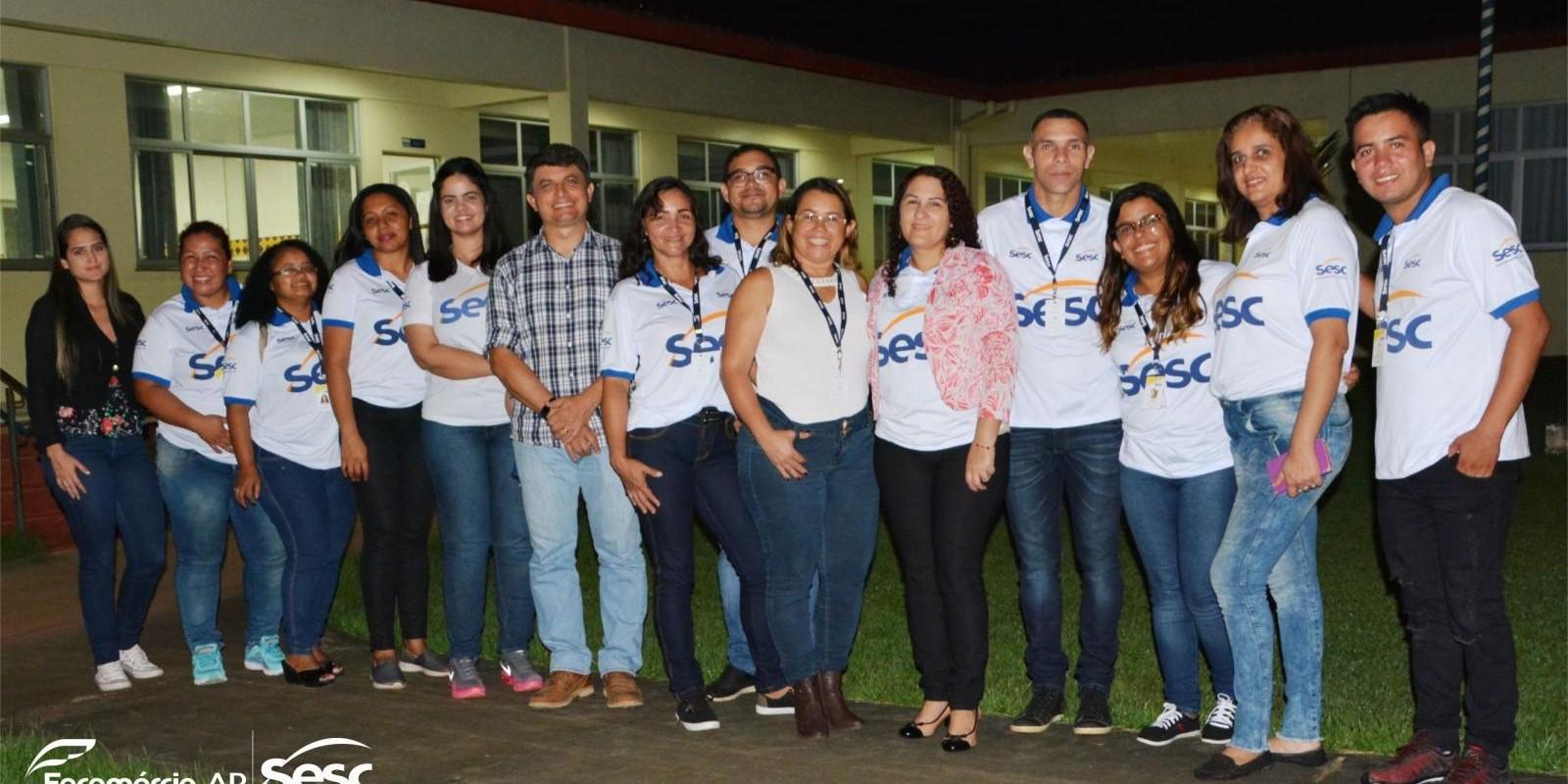 Visita Técnica da Diretoria do Sesc nas Unidades Sesc Ler Oiapoque, Laranjal do Jari e Amapá.