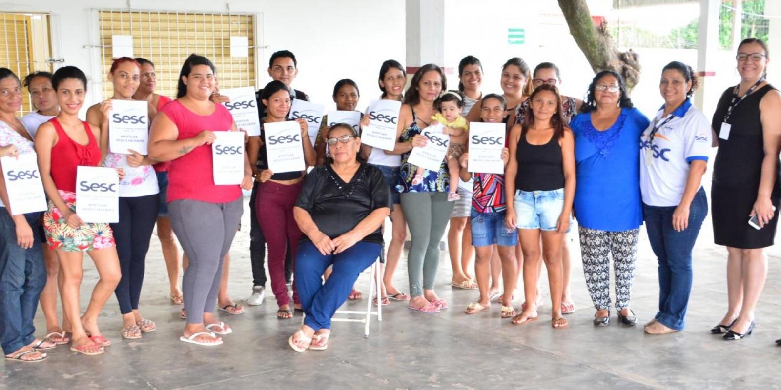 CURSO DE VALORIZAÇÃO SOCIAL DO SESC AMAPÁ