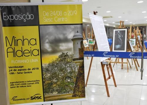"""Vernissage exposição """"Minha Aldeia"""""""