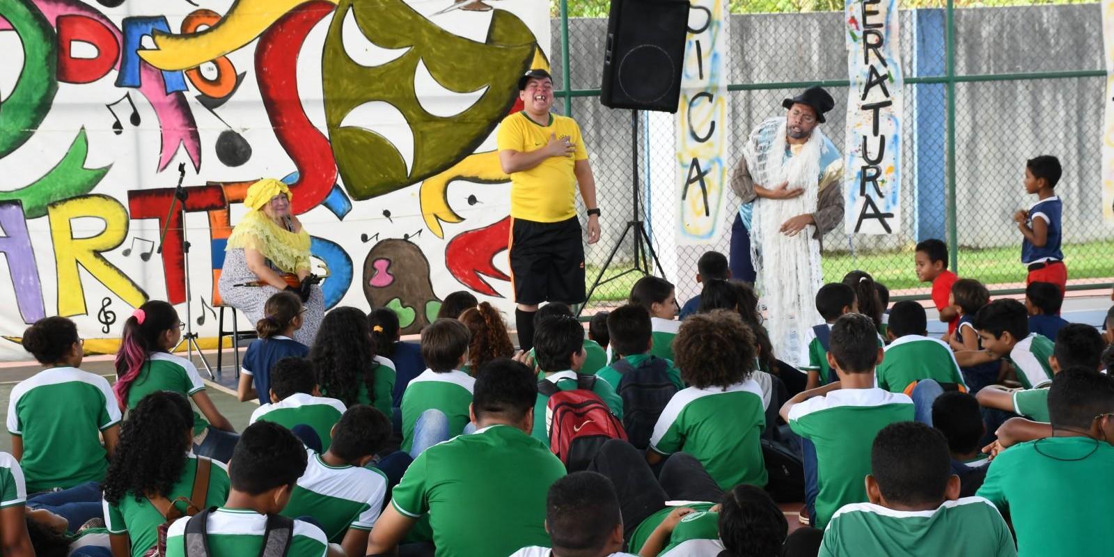 Caravana Sesc das Artes - Sesc Ler Oiapoque
