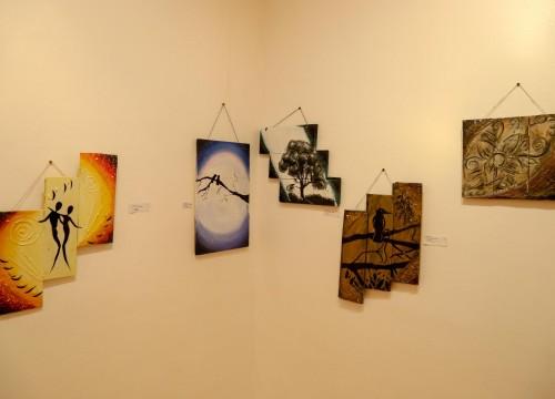 """Vernissage da Exposição: """"Feito com o Defeito"""" e Entrega de Certificados do Curso de Artes Visuais - PCG"""
