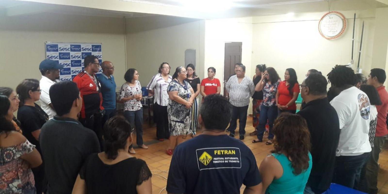 Ações de Cursos, Oficinas e Palestras - Escola Ruth Bezerra