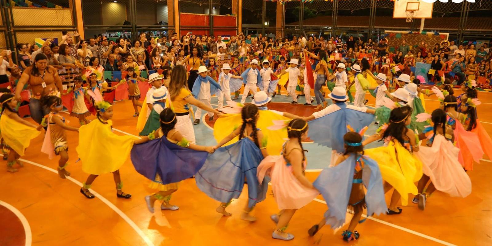 Festa Revivendo as Tradições - Turma da Tarde