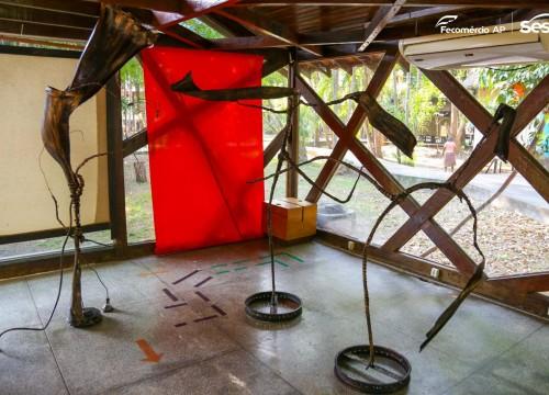Exposição DNA - do Artista Josaphat