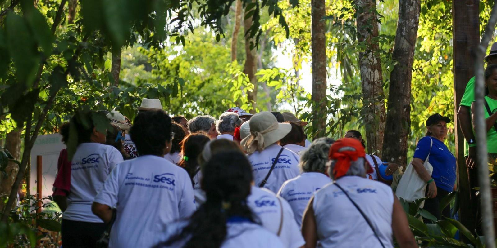 Grupo Alegria de Viver - Visita ao Bioparque da Amazônia