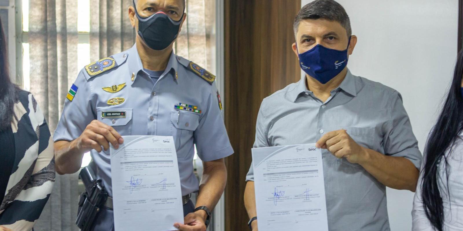 Assinatura de Convênio Sesc Amapá e PMAP
