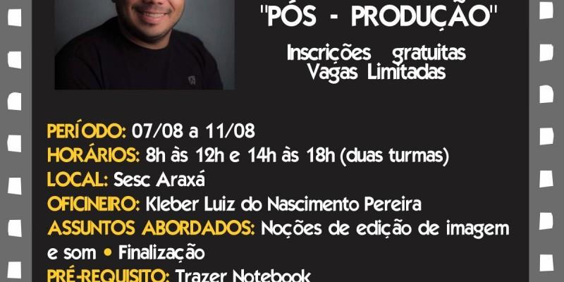 Sesc Amapá realiza oficina de audiovisual com foco em pós-produção