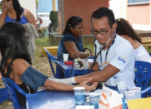 Sesc promove ação de saúde com foco na saúde da mulher