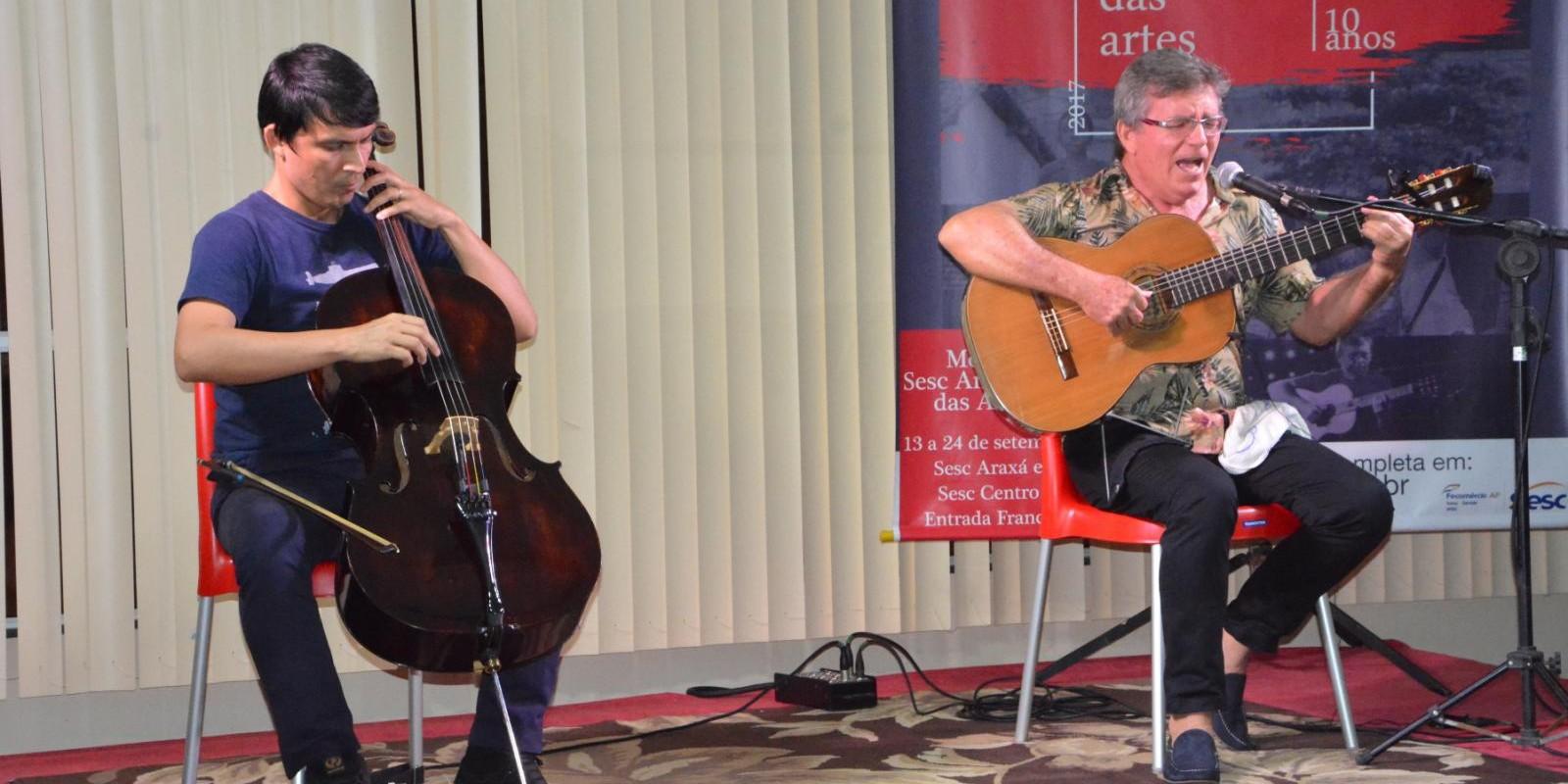 Sétimo dia de Amazônia das Artes trouxe música para o Sesc Amapá
