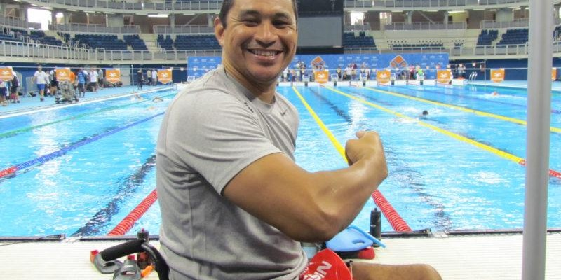 Nadador paralímpico Clodoaldo Silva participa de ParaCopa Sesc Amapá