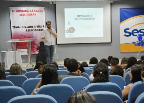 Sesc Amapá promove XI Jornada de Saúde com tema sobre HIV e Vírus Relacionados