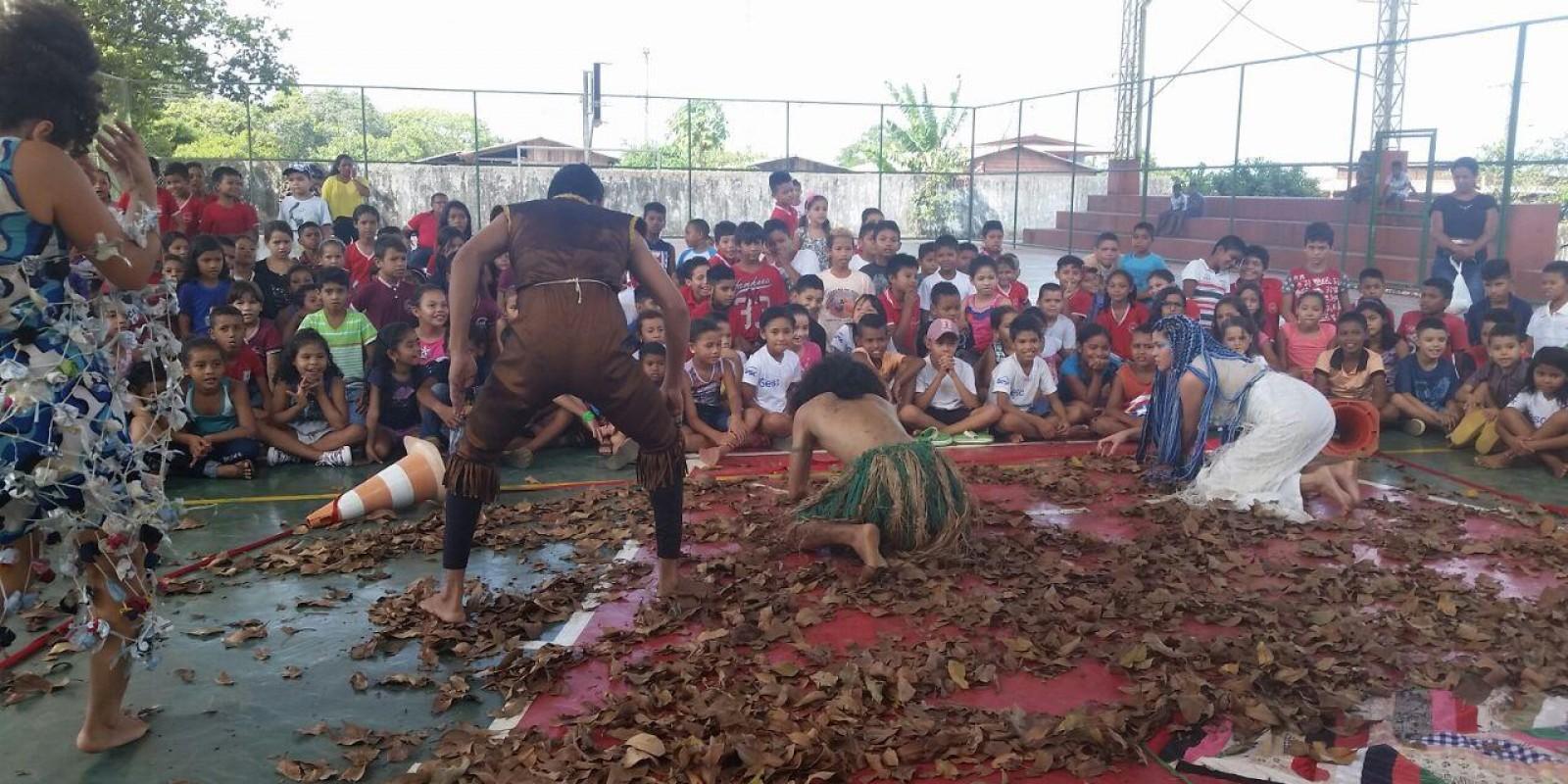 Sesc leva cultura e lazer para o municipio de Amapá
