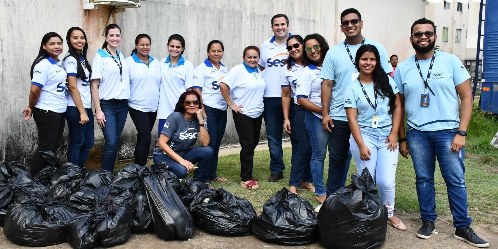 Conjunto Macapaba recebe ação de conscientização ambiental