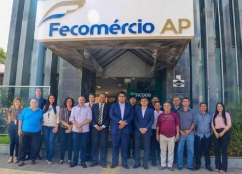 Comitiva da OAB Amapá visita unidades do Sistema Fecomércio