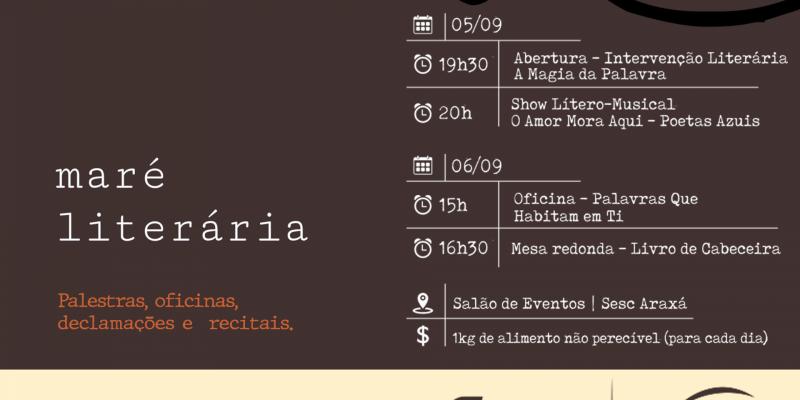 """SESC Amapá realiza evento de vivência literária com a apresentação """"MARÉ LITERÁRIA"""""""