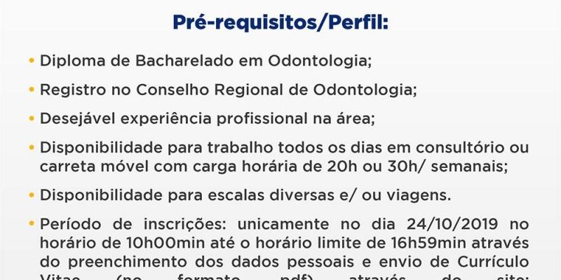 Processo Seletivo Sesc/AP nº 025/2019 - Cargo: Odontólogo