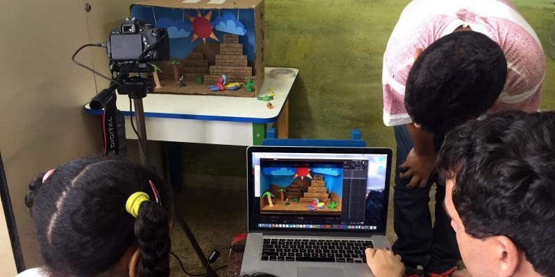Animação audiovisual: Meu primeiro curta-metragem