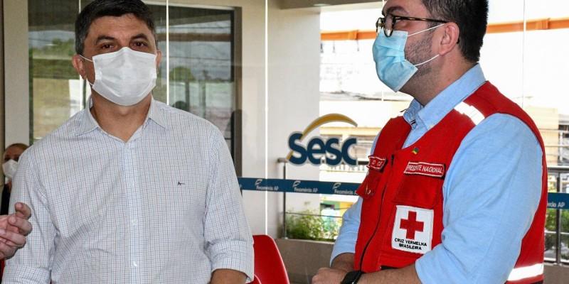 Sesc Amapá e Cruz Vermelha Brasileira assinam termo de cooperação técnica