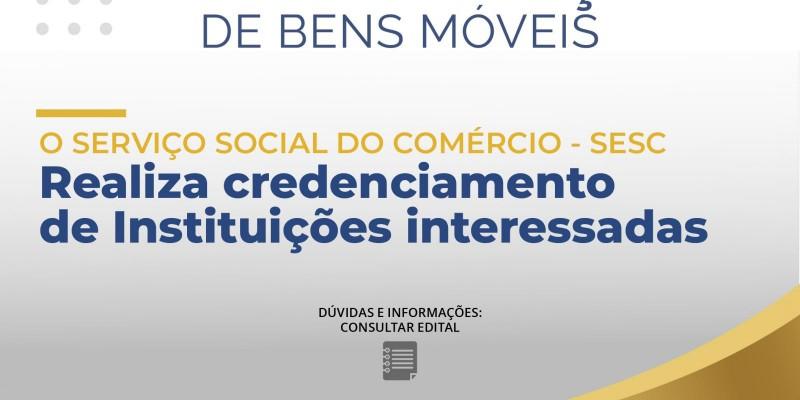 EDITAL DE DOAÇÃO DE BENS MÓVEIS