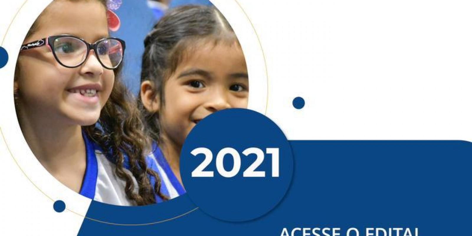 INSCRIÇÕES PARA PROVIMENTO DE VAGAS NA ESCOLA SESC (ANO DE 2021)