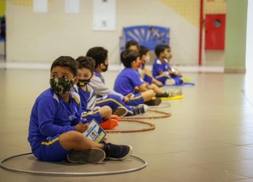 Escola Sesc recebe alunos da Educação Infantil de forma presencial após um ano