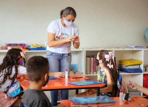 Criar Sesc recebe novamente crianças da comunidade Santa Clara
