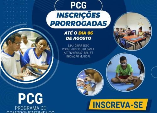 PRORROGADO PCG 2021: seguem abertas as inscrições para bolsa integral nas atividades educativas, culturais e de assistência do Sesc Amapá