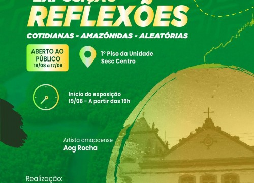 Dia Mundial da Fotografia: Sesc Amapá realiza exposição fotográfica em comemoração à data