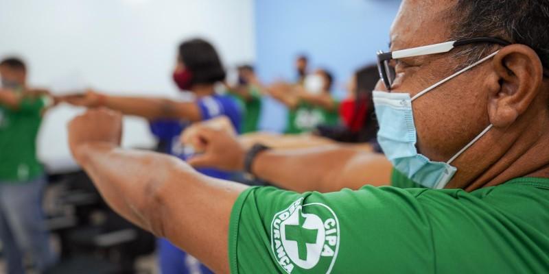 Colaboradores do Sesc participam de Semana Interna de Prevenção a Acidentes de Trabalho 2021