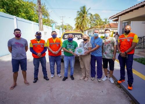 Mesa Brasil entrega cestas básicas para projeto socioeducativo da Guarda Civil de Macapá