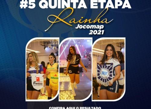 Resultado #5 Quinta Etapa - Concurso Rainha Jocomap 2021