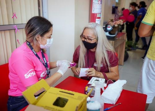 Sesc Amapá inicia programação alusiva ao Outubro Rosa