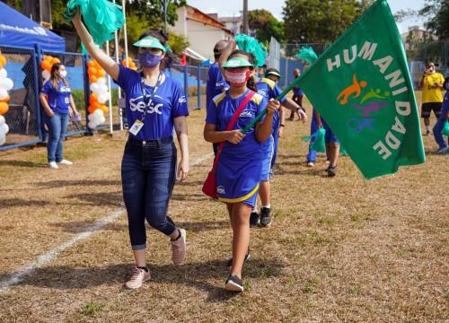 """XXIII Jogos Internos da Escola Sesc trazem o tema """"Respeitando e convivendo com as diferenças"""""""