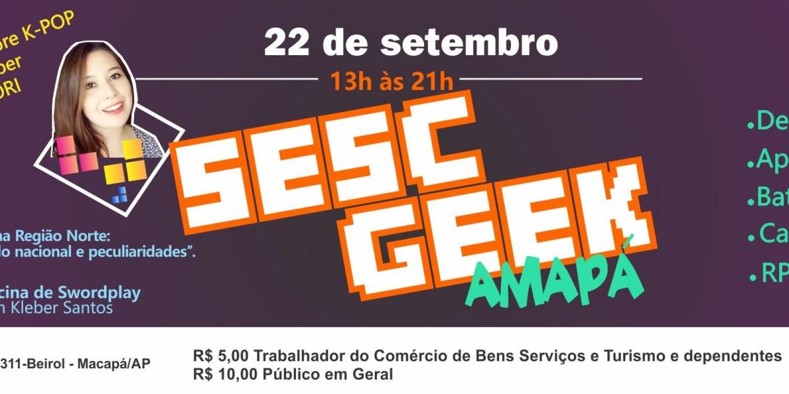 Sesc Geek Amapá