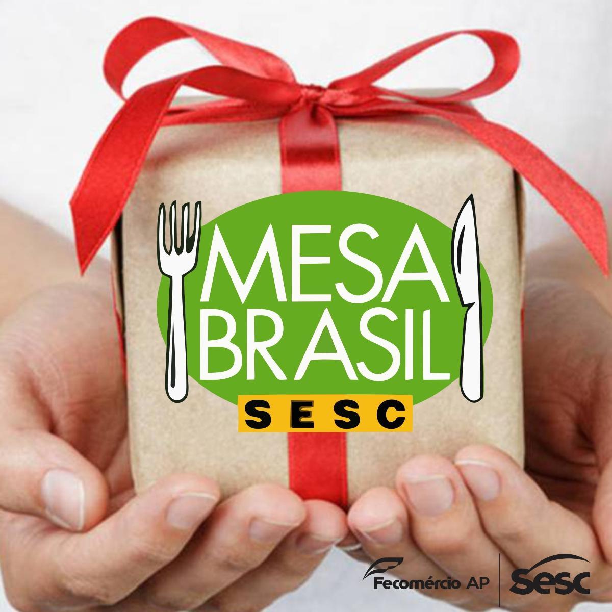 Mesa Brasil Sesc distribui brinquedos arrecadados em corrida do Comércio