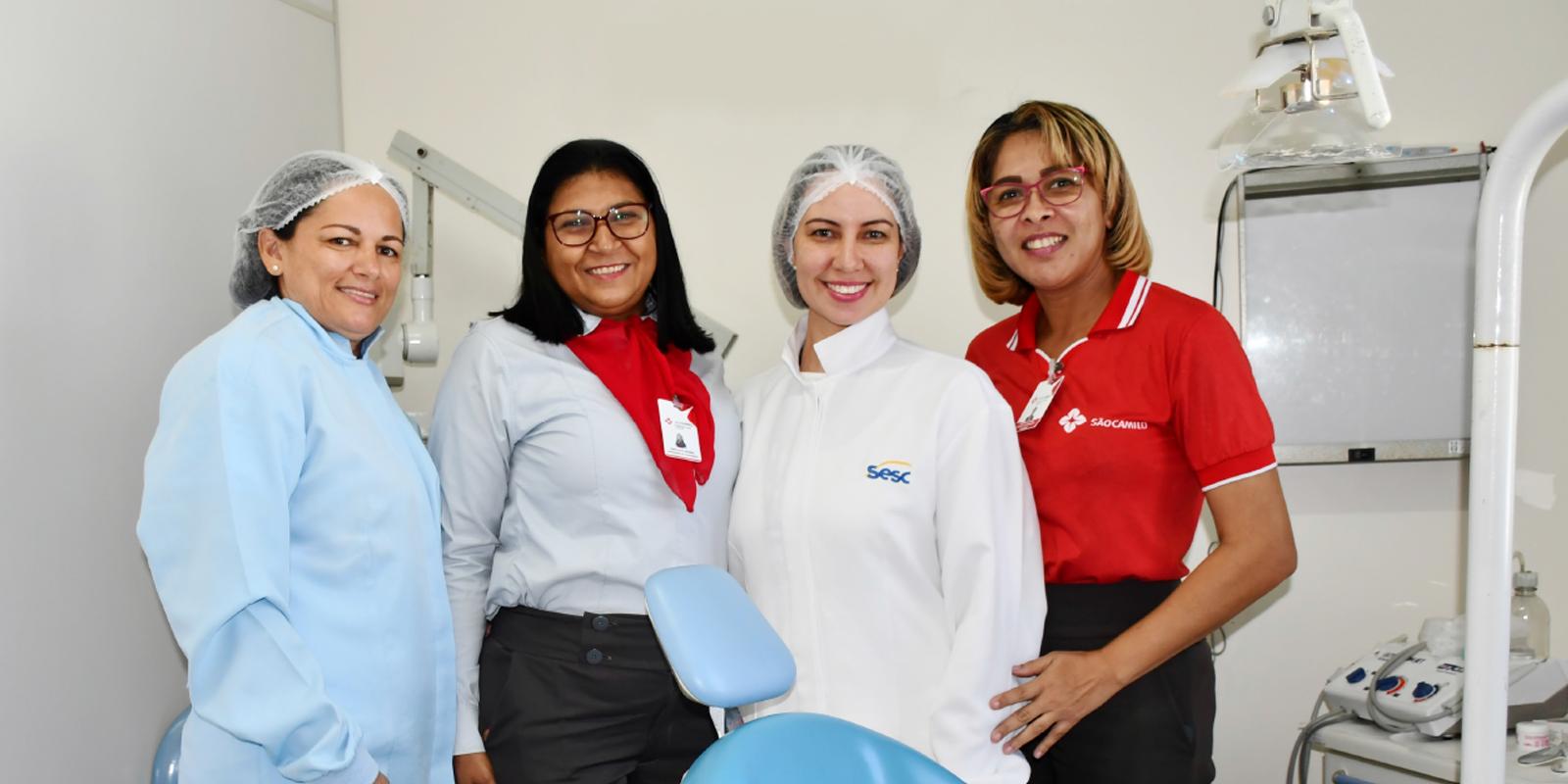 Sesc desenvolve há 17 anos em Macapá o projeto itinerante OdontoEmpresa