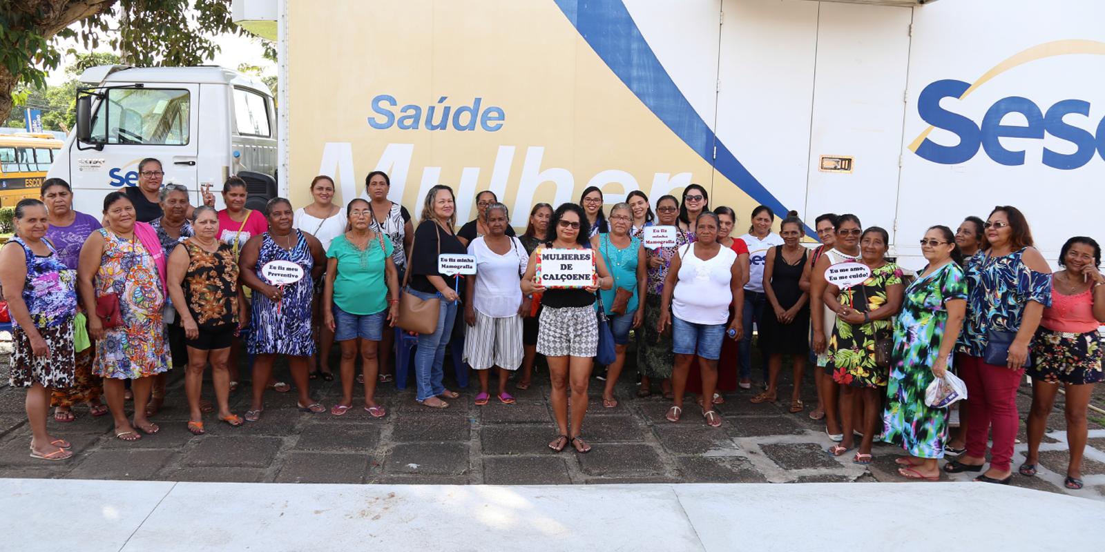 Unidade Móvel do Sesc AP realiza exames gratuitos para mulheres dos municípios do Amapá