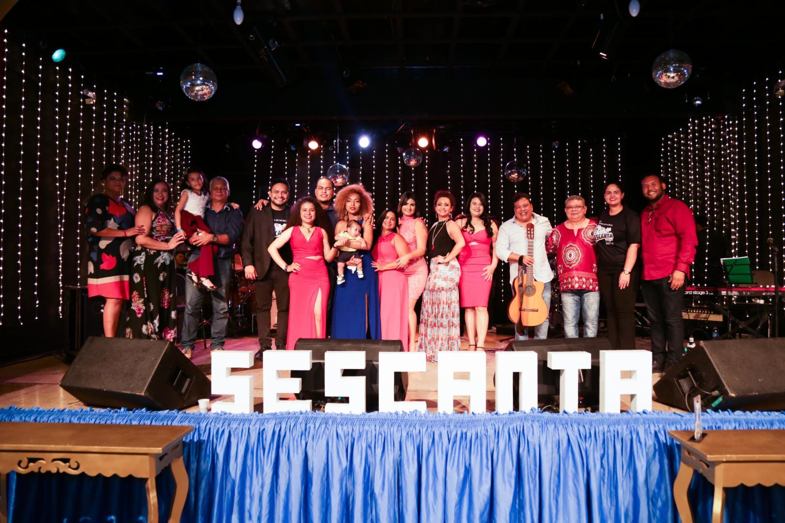 Sesc AP realiza o lançamento dos DVDs da Mostra de Música SESCANTA