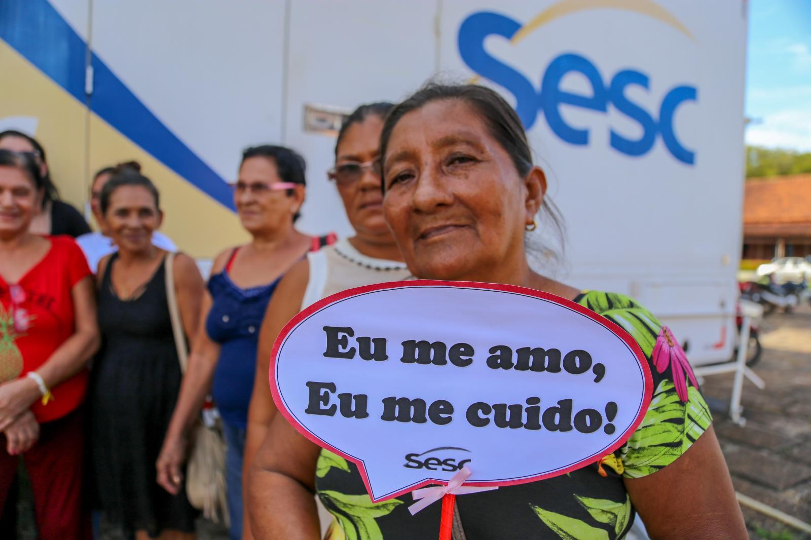 Unidade Móvel do Sesc realiza exames gratuitos para mulheres do interior do Amapá