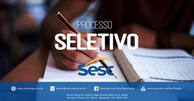 Inscrições para Provimento de Vagas na Escola Sesc Amapá